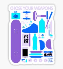 Chose Your Weapons - New Colours Sticker