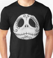 Sugar Skull Jack Skellington face T-Shirt