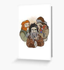 Bifur and Bofur and Bombur Greeting Card