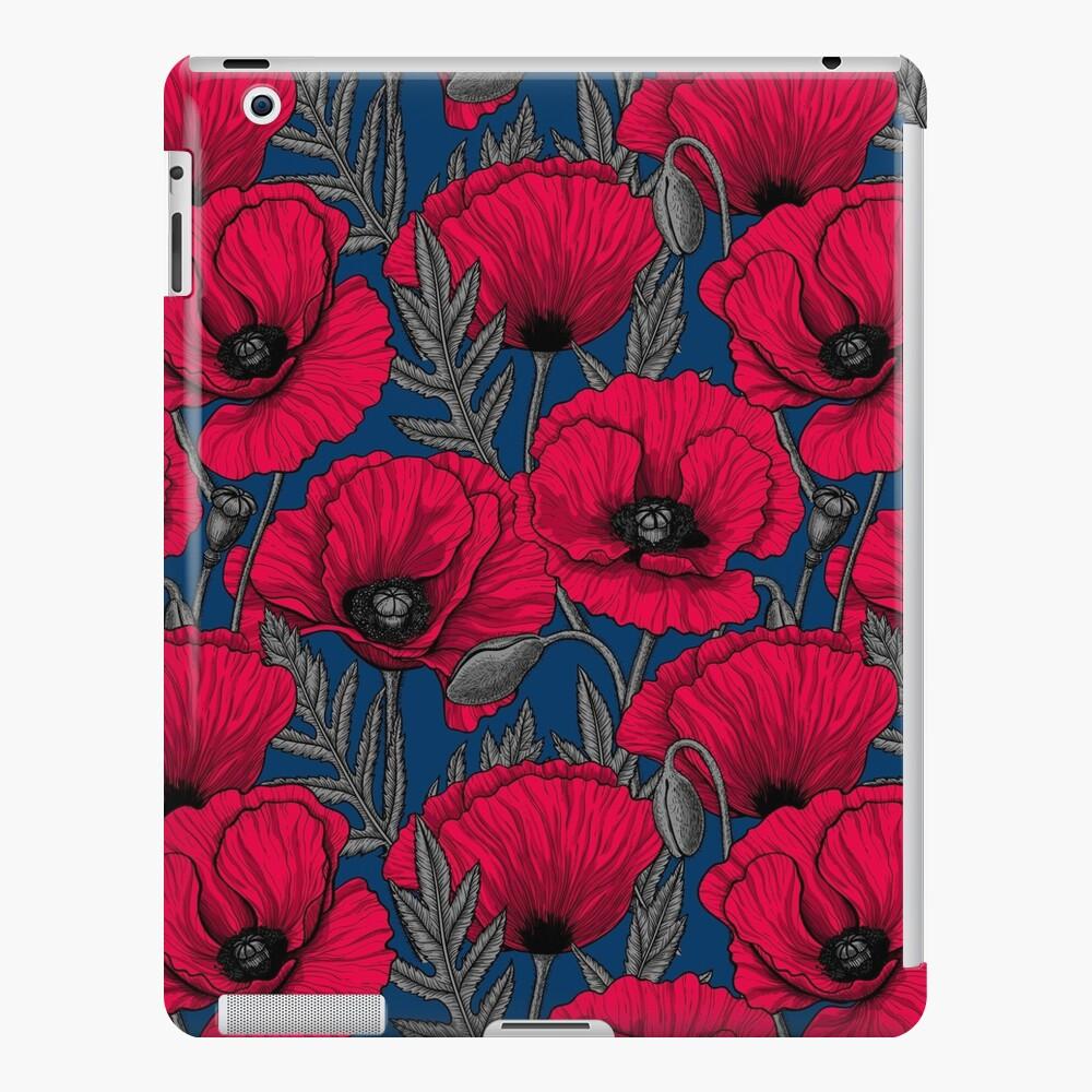 Night poppy garden iPad Case & Skin