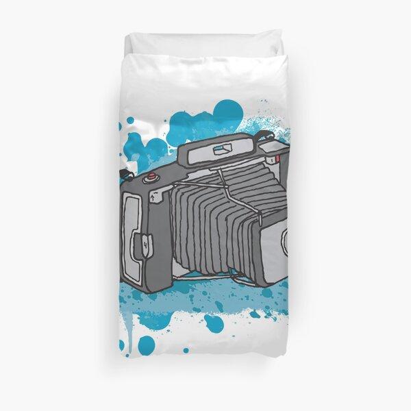 Retro Camera Duvet Cover
