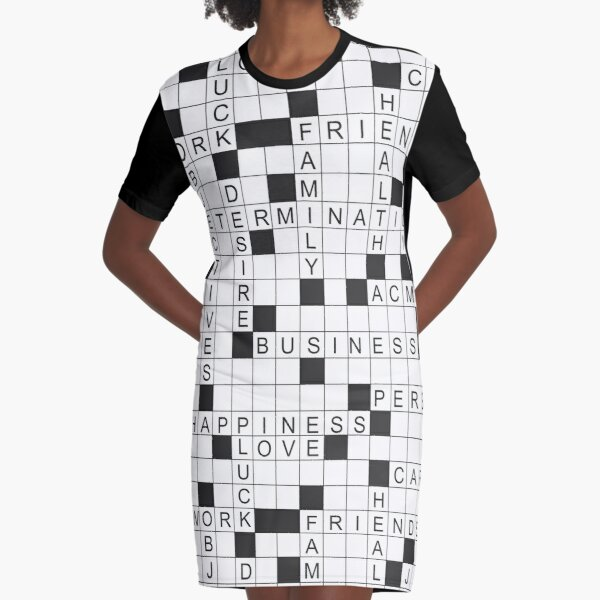 Crossword Dresses Redbubble