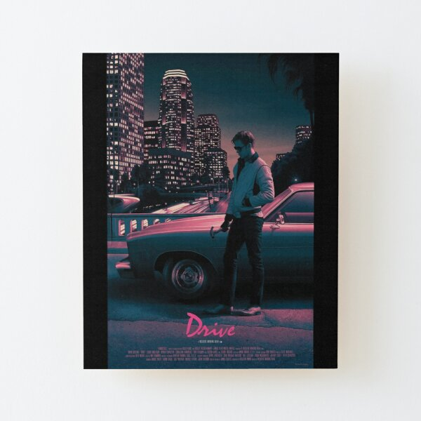Drive movie poster Wood Mounted Print