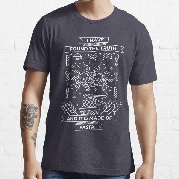 Minimal Pastafarian Essential T-Shirt