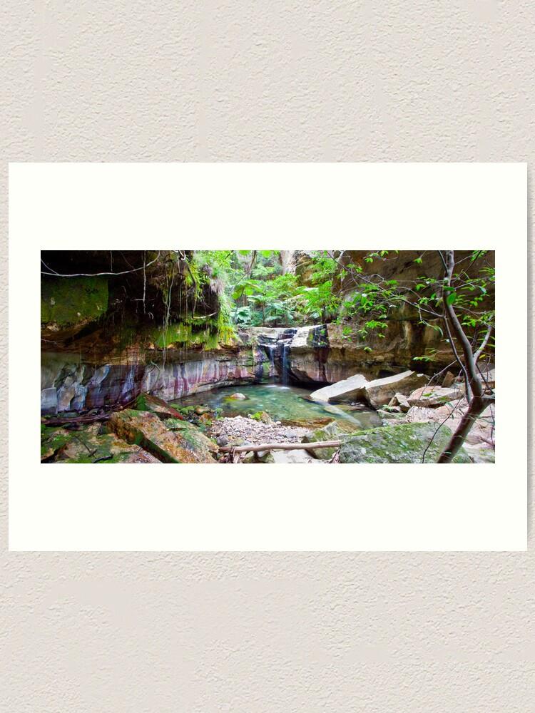 Alternate view of The Moss Gardens Art Print