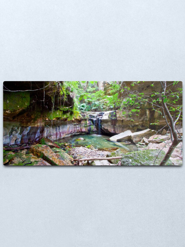 Alternate view of The Moss Gardens Metal Print