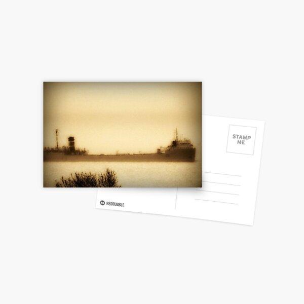 Ghost Ship ©  Postcard