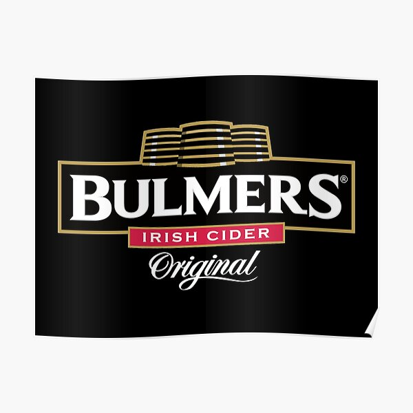 VINTAGE BULMERS FOR ME CIDER ADVERTISING A4 POSTER PRINT