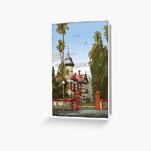 Carclew Greeting Card