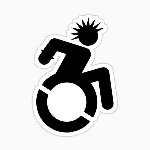 Cripple PUNK Pegatina brillante
