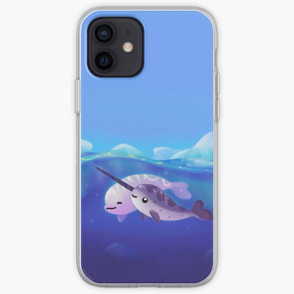 Beluga and Narwhal iPhone Soft Case