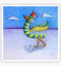 Bright Bird (in a dull world) Sticker