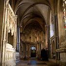 Gothic tomb by Robert Ellis