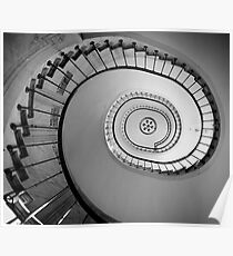 Stairs in Gallerie Vivienne Poster