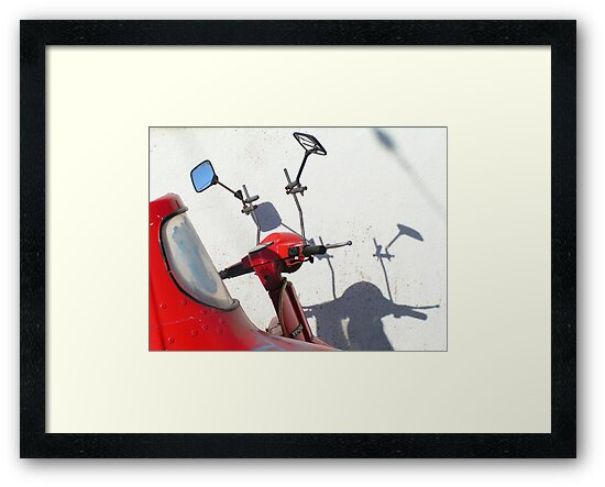 Red Vespa by TalBright