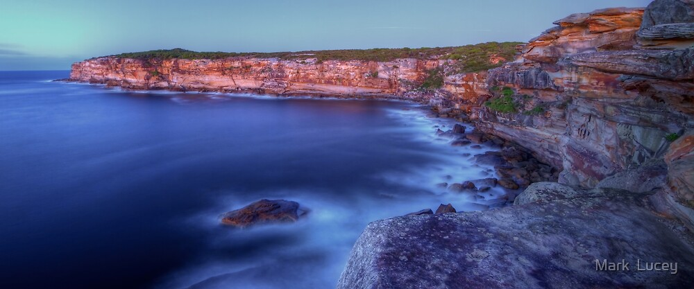 Rock Face by Mark  Lucey