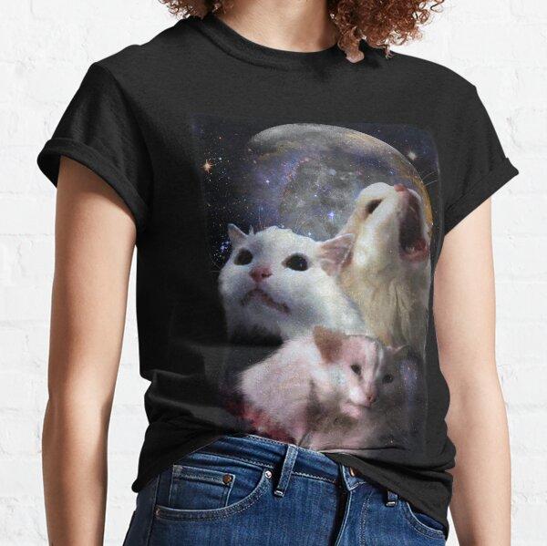 Triple Thurston Moon Cats! Classic T-Shirt