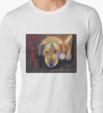 Got Balls? Golden Lab Long Sleeve T-Shirt