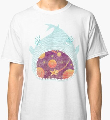 Cosmic Fish with Gingerbread Astronaut Classic T-Shirt