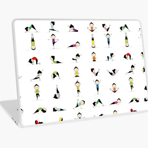 Yoga time Laptop Skin