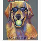 Got Balls? Golden Retriever by Ann Marie Hoff