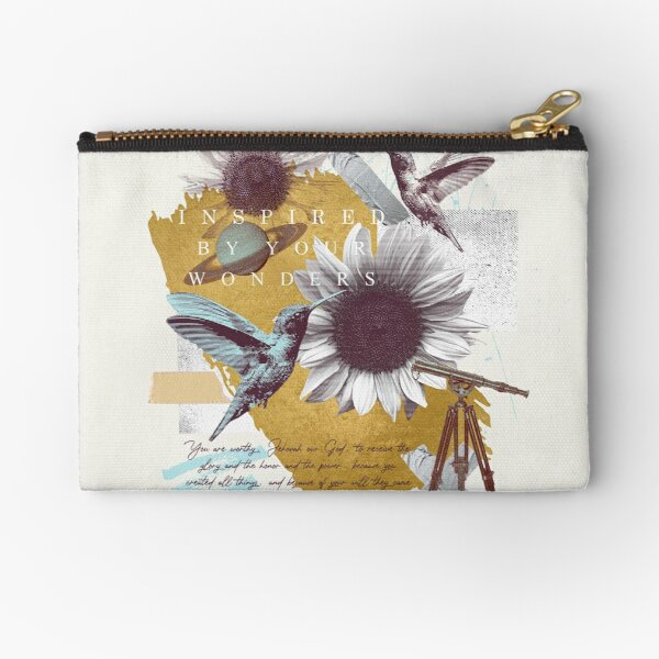 INSPIRED BY YOUR WONDERS Zipper Pouch
