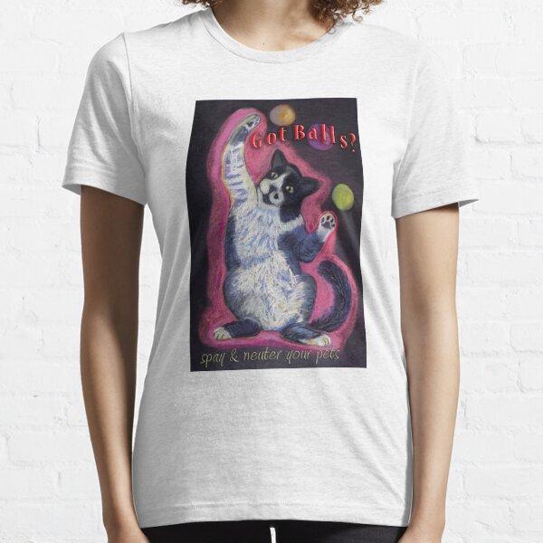 Got Balls? Juggling Cat Essential T-Shirt