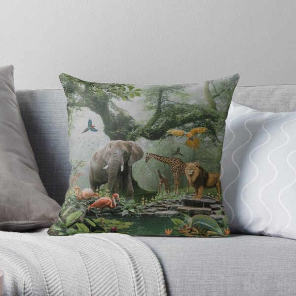 PROJECT PARADISE Throw Pillow
