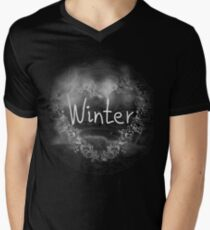 In love with Winter a beautiful season V-Neck T-Shirt