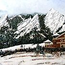 Chautauqua - Winter, Late Afternoon by Tom Roderick