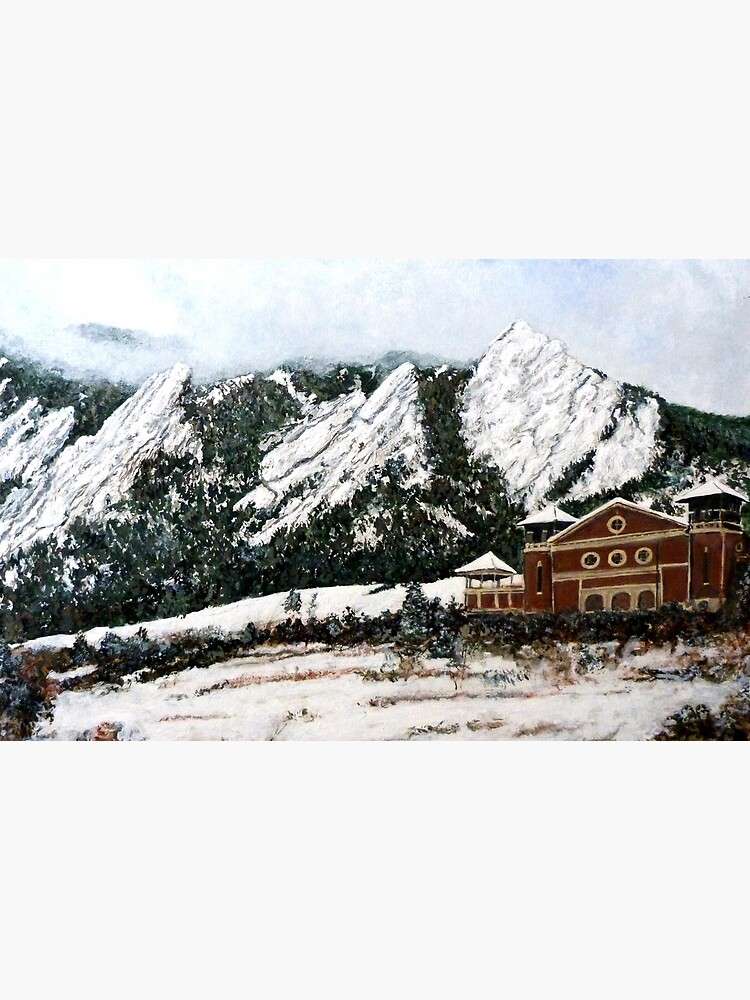 Chautauqua - Winter, Late Afternoon by donnaroderick