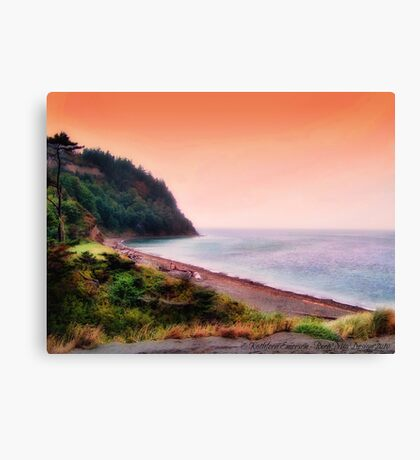 At the Edge of the World Canvas Print