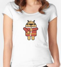Hong Droid Phooey Women's Fitted Scoop T-Shirt