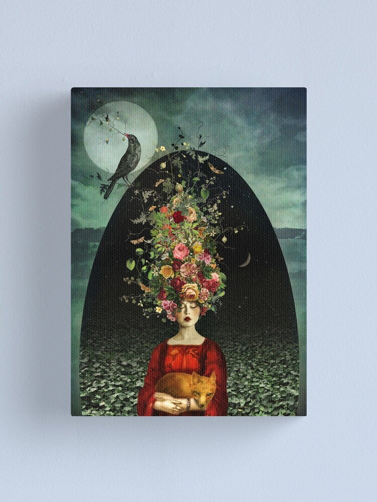 Alternate view of The Ballad Of Two Moons Canvas Print