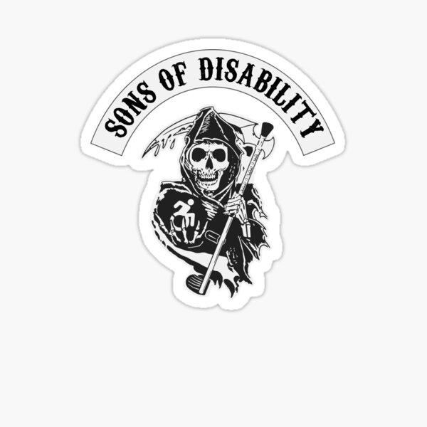 Sons of Disability Pegatina brillante
