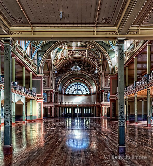 Royal Exhibition Building • Melbourne • Australia by William Bullimore