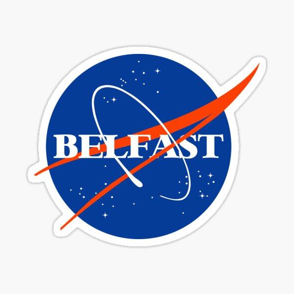 Belfast Northern Ireland Sticker
