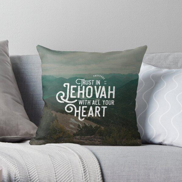 PROVERBS 3:5 Throw Pillow