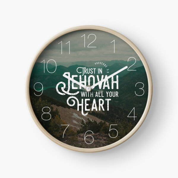 PROVERBS 3:5 Clock