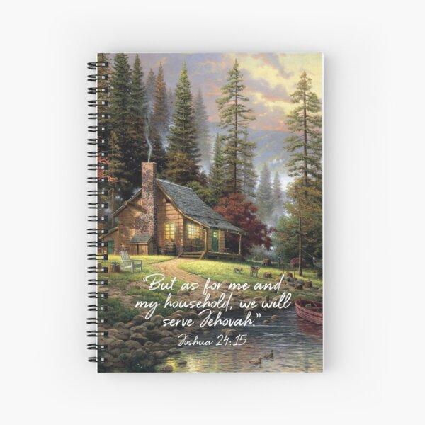 JOSHUA 24:15 Spiral Notebook