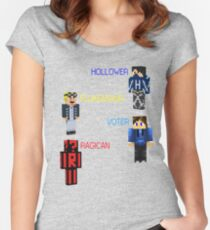 The Crew!!! Women's Fitted Scoop T-Shirt