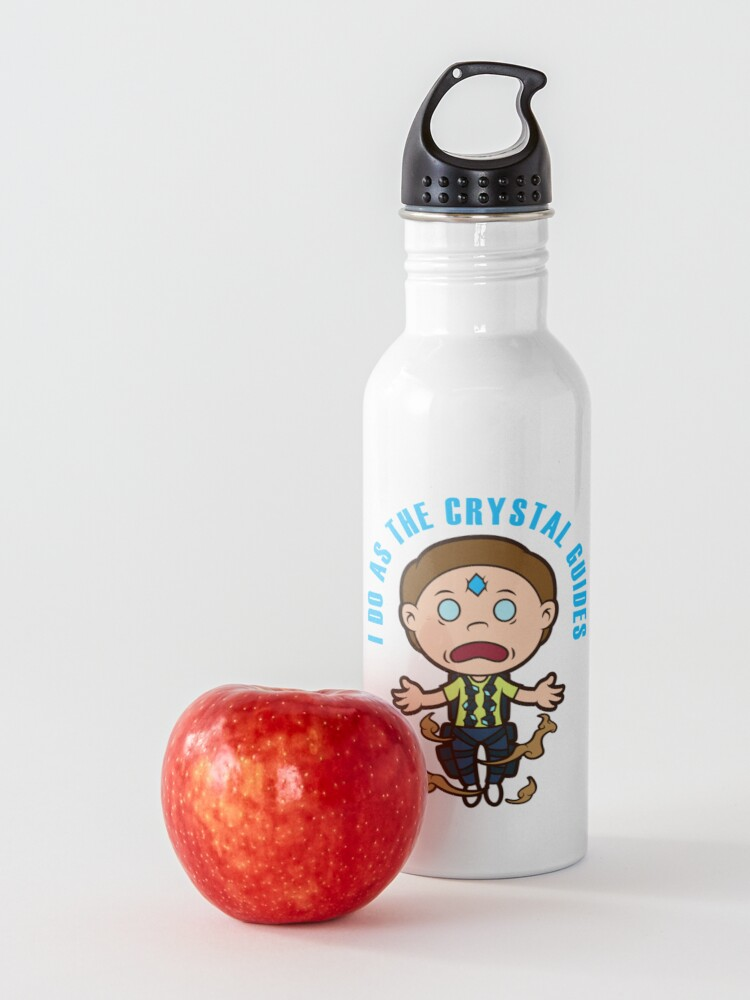 Alternate view of Death Crystal Morty Water Bottle
