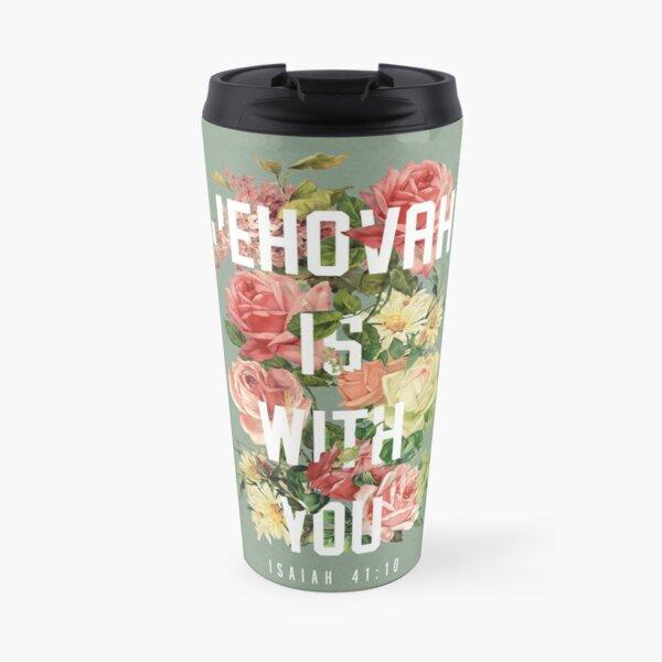 ISAIAH 41:10 (Floral) Travel Mug