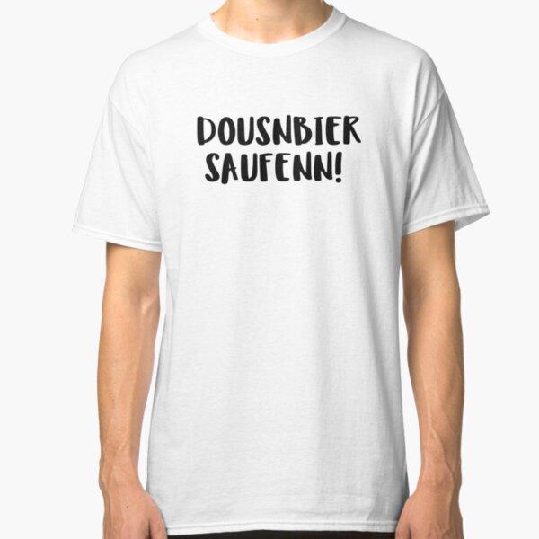 T-Shirt Alkohol ins Müsli Bier spruch Männertag tour durst trinken kneipe