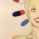 Holy Pill Popper by Aubrey Dunn