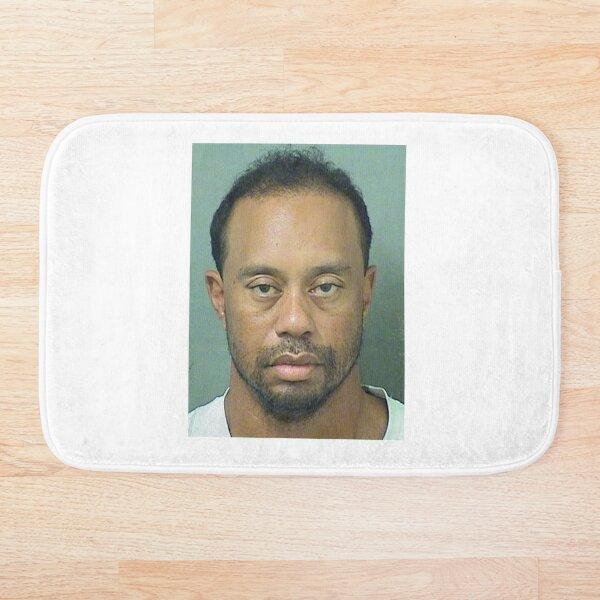 Tiger Woods Mugshot Bath Mat