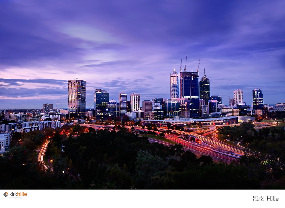 Perth Long Exposure by Kirk  Hille