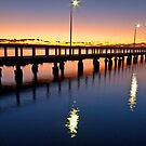 First Light on Wello - Wellington Point Qld by Beth  Wode