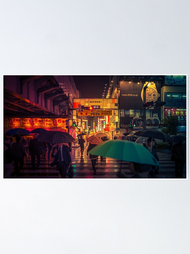 Alternate view of Rain on the Golden City Poster