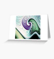 Wave Goodbye Greeting Card